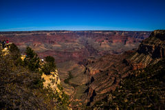 The Cliffs of the Grand Canyon. The Stunning Depth, Color and Dimension of the Grand Canyon stock photos