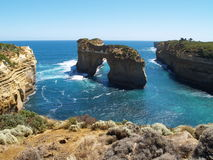 Cliffs at Great Ocean Road Stock Photos