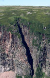 Cliffs in Gros Morne Stock Image