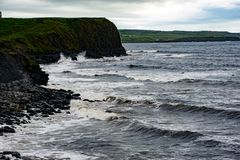Cliffs and Harbor in Dingle, County Kerry, Ireland Stock Photography