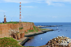 The Cliffs of Helgoland Royalty Free Stock Photo