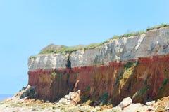 Cliffs at Hunstanton Stock Photography