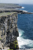 Cliffs of Inishmore, Aran Islands, Ireland, Europe stock photography