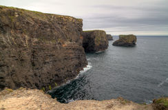Cliffs of Ireland Royalty Free Stock Images
