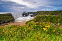 Cliffs in Ireland Stock Images