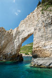 Cliffs on the island, Greece Royalty Free Stock Images