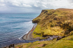 Cliffs of the Isle of Skye - Scotland Stock Image