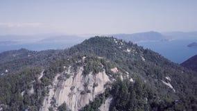 Cliffs Of Japan, Aerial 4k Ungraded Color D Log