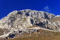 Cliffs on Kalymnos Island Stock Image