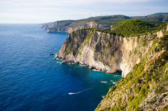 Cliffs of Keri, Zakynthos, Greece. Cliffs of Keri - Zakynthos, Greece Stock Photo