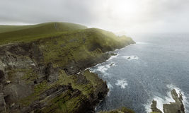 Cliffs of Kerry Royalty Free Stock Images
