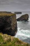 Cliffs of Kilkee Stock Photo
