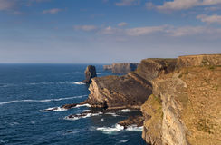 Cliffs in Kilkee , Ireland Stock Images