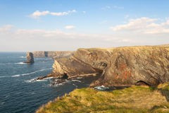 Cliffs of Kilkee - Ireland Royalty Free Stock Photography