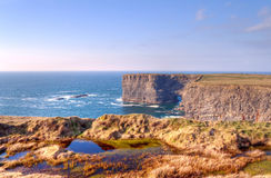 Cliffs of Kilkee - Ireland Royalty Free Stock Image