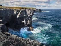 Cliffs of Kilkee Stock Photos