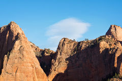 Cliffs of Kolob Canyon Royalty Free Stock Photos
