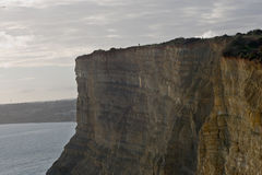 Cliffs of Lagos in Portugal. The Cliffs above the beaches at Lagos, Portugal, in the Algarve region Stock Photography