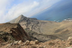 Cliffs on the Lanzarote. Cliffs on the island of Lanzarote Stock Photography