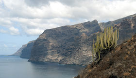 Cliffs of Los Gigantes Stock Image