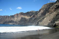 Cliffs of the Los Gigantes Royalty Free Stock Photo