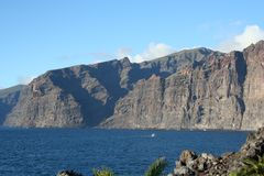 Cliffs of the Los Gigantes Stock Photo