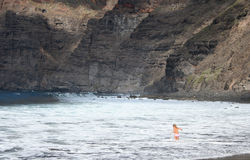 Cliffs of the Los Gigantes Royalty Free Stock Photos