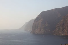 Cliffs of Los Gigantes, Tenerife Royalty Free Stock Photo