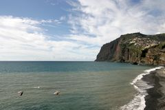 Cliffs of Madeira Royalty Free Stock Photo