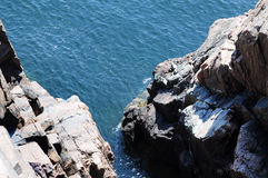 The cliffs of Maine Royalty Free Stock Photos