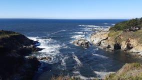 Cliffs. Make the ocean even more beautiful. California, usa Royalty Free Stock Photos