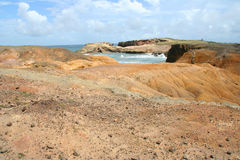 Cliffs in Martinique Stock Images