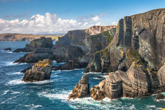 Cliffs On Mizen Head In West Cork Royalty Free Stock Photos