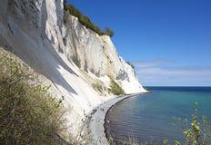 Moens Klint, Denmark. The Cliffs of Moen in Denmark Stock Photography