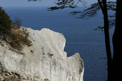 The Cliffs of Moen, Denmark Stock Images