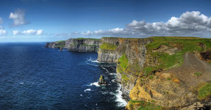 Cliffs of Moher. Highest cliffs in Europe Royalty Free Stock Photography
