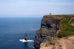 Cliffs of Moher. A famous attraction in Ireland Royalty Free Stock Photos