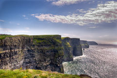 Cliffs of Moher. County clare, ireland Royalty Free Stock Images
