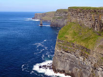 Cliffs of Moher. In the west of Ireland Stock Photos