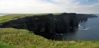 Cliffs of Moher. In the west of Ireland Stock Images
