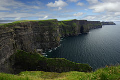 Cliffs of Moher. The Cliffs of Moher in the republic of Ireland Stock Photography