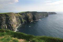 Cliffs of Moher. The Cliffs of Moher in Ireland Stock Photos
