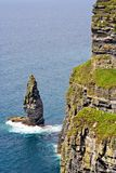 The Cliffs of Moher. In County Clare, Ireland. This is on the Atlantic Ocean coastline Stock Images