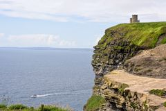The Cliffs of Moher. In County Clare, Ireland. This is on the Atlantic Ocean coastline Royalty Free Stock Photos