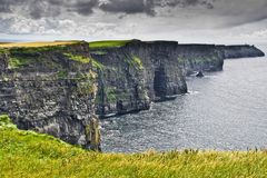Cliffs of Moher. The Cliffs of Moher in western Ireland Stock Photography