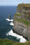 Cliffs of Moher. View at the Cliffs of Moher, Ireland Stock Image
