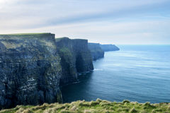 Cliffs of Moher and Atlantic Ocean Royalty Free Stock Photography