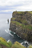 Cliffs of Moher and Atlantic Ocean. Royalty Free Stock Photo