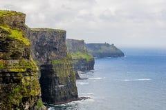 Cliffs of Moher, Burren region, County Clare, Ireland Stock Image