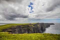 The Cliffs of Moher, the Burren Region in County Clare Royalty Free Stock Photography